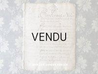 1739年 アンティーク 古文書 24ページ