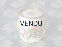 アンティーク 菫&薔薇のパフュームボックス 帽子箱