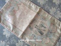 19世紀 アンティーク 薔薇のガーランドのシルク製ポシェット お菓子袋 - Pâtisserie SEUGNOT PARIS -