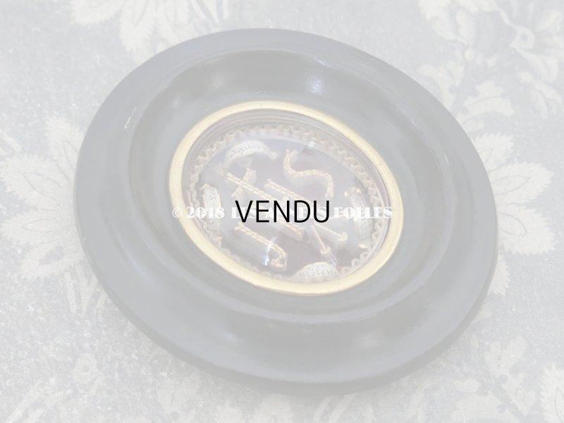 画像2: 19世紀 アンティーク ルリケール 聖遺物のガラスフレーム  聖人の遺品