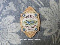 アンティーク 小さなパフュームラベル 昼顔 VOLUBILIS- LORENZY-PALANCA -