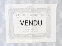 アンティーク ボンマルシェのカタログ インテリア用ファブリック&パスパントリー TISSU POUR AMEUBLEMENTS - AU BON MARCHE -