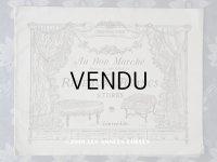 アンティーク ボンマルシェのカタログ カーテン&ベッドカバー RIDEAUX BLANCS - AU BON MARCHE -