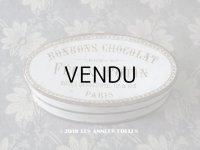 19世紀末 アンティーク ボンボンショコラの紙箱 BONBONS CHOCOLAT -FELIX POTIN PARIS-