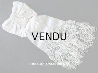 1900年代 アンティーク ポワン・ド・ローズ&デュセスレースの装飾入り コミュニオンの腕章 【ポワン・ド・ローズ】