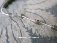 1900年代 アンティーク ゼラチン製 極小1.5mm スパンコール シルバー