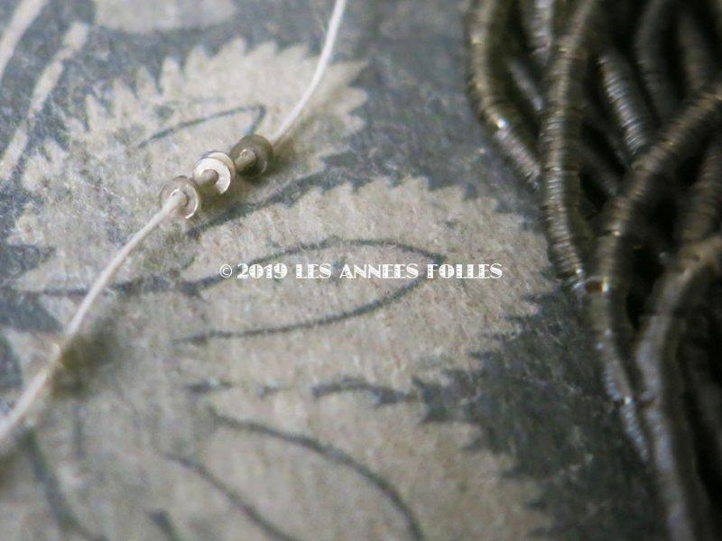画像4: 1900年代 アンティーク ゼラチン製 極小1.5mm スパンコール シルバー