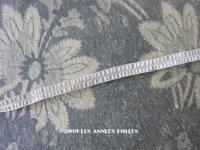19世紀末 アンティーク 極細 オフホワイトのトリム 5mm幅