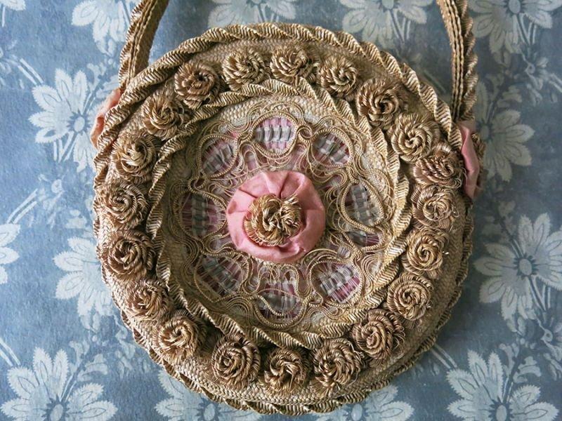 画像2: 19世紀 アンティーク  ナポレオン3世時代のバッグ