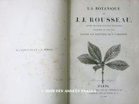 1805年 初版 【 ジャン=ジャック・ルソーの植物学 】 薔薇の画家ルドゥテの植物画65枚 BOTANIQUE DE J.J.ROUSSEAU