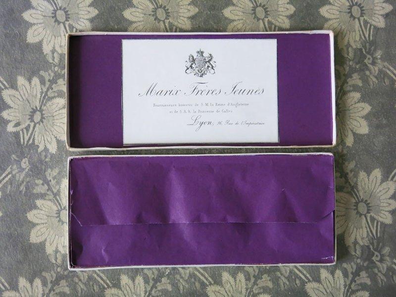 画像2: 19世紀末 アンティーク イギリス王室御用達 レースのアトリエの紙箱