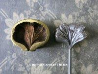 アンティーク  こて 花びら用 型押しの道具 古いコサージュ店  造花