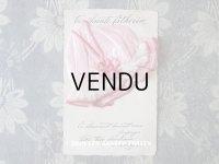 アンティーク ポストカード STE-CATHERINE レース&リボン付 ピンクのボネ
