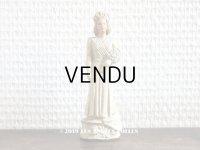 アンティーク 花嫁の石膏人形 ウェディング