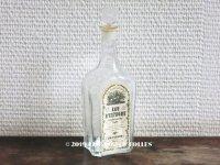 1900年代 アンティーク 花籠のパフュームボトル 香水瓶 EAU D'ESPAGNE EAU DE TOILETTE TRIPLE - ED.PINAUD -