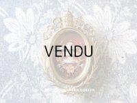 19世紀 アンティーク ルリケール 聖遺物のペンダント クロス & ティアラ 聖人の遺品 封蝋付き