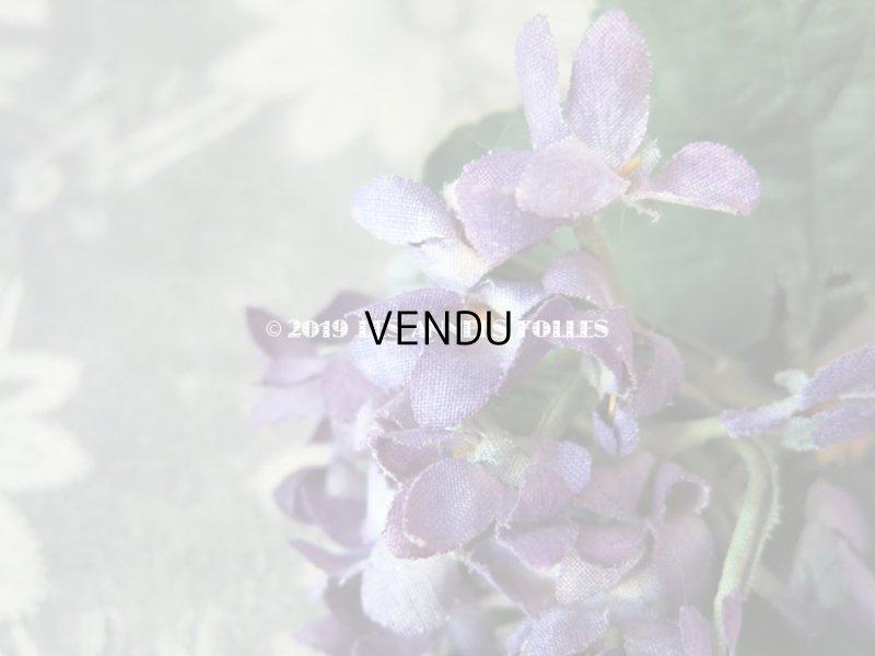 画像4: アンティーク 菫のブーケの布花