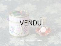 アンティーク とても小さな 菫のパフュームボックス&ボトル ESSENCE VIOLETTE DE TOULOUSE - BERDOUES FRANCE -
