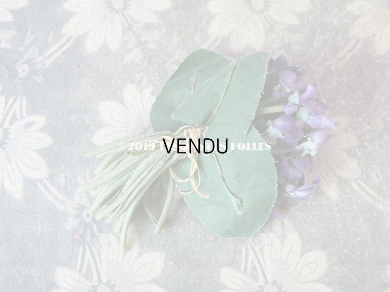 画像3: アンティーク 菫のブーケの布花