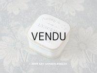 【9周年セール対象外】 アンティーク 小さなパウダーボックス POUDRE DE RIZ LYSCRINE TOULOUSE-PARIS