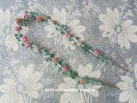 アンティーク 聖母マリアの薔薇のガーランド