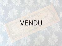 アンティーク ボンマルシェ グローブの紙袋 薔薇のガーランド LE GANT BOUCICAUT - AU BON MARCHE PARIS -