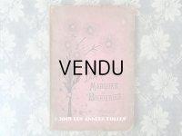 19世紀末 アンティーク クロスステッチ & モノグラムの刺繍図案帳 MANUELE DE MARQUES ET BRODERIES N 194 - N.ALEXANDRE&CIE -