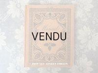 19世紀末 アンティーク モノグラム刺繍の図案帳 MANUELE DE BRODERIES N 179 - N.ALEXANDRE&CIE -