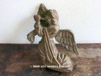 アンティーク 木製 教会の天使のオーナメント