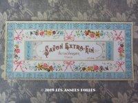 アンティーク ソープラベル SAVON EXTRA-FIN - VICTOR VAISSIER PARIS -