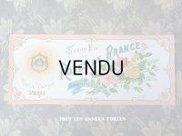 アンティーク 薔薇のソープラベル SAVON FIN AUX ROSES DE FRANCE - VICTOR VAISSIER PARIS -