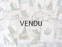 19世紀末 アンティーク タロットカード 全32枚 - GRIMAUD -