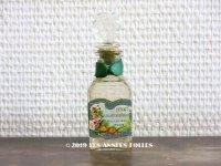 アンティーク 薔薇のパフュームボトル EXTRAIT CONSENTRE AUX FLEURS  - PELLETIER PARIS - (63)