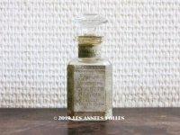 アンティーク 菫のパフュームボトル PARFUM CONSENTRE VIOLETTE  DE PARME  - VIVILLE PARIS - (64)