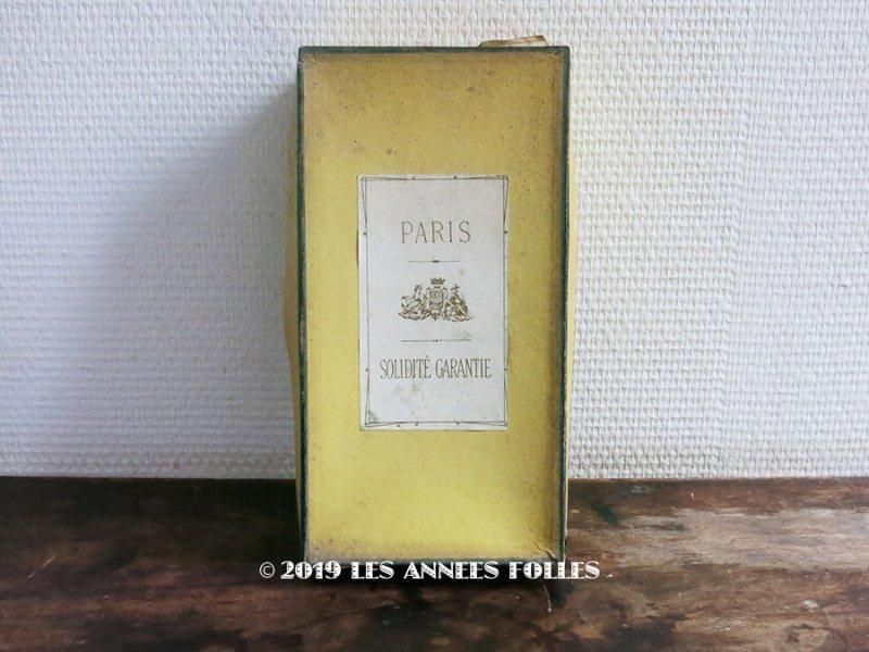 画像1: 19世紀末 アンティーク ボタン箱