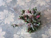 アンティーク 薔薇の蕾の布花 32個のセット