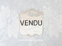 アンティーク 菫のパフュームラベル VERA VIOLETTA - ROGER & GALLET PARIS -