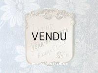 アンティーク 菫のパフュームのラベル VERA VIOLETTA - ROGER & GALLET PARIS -