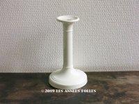 アンティーク  SARREGUEMINES窯の燭台 キャンドルホルダー