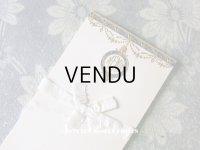未使用 アンティーク メニューカード 7枚セット MENU ルイ16世スタイル