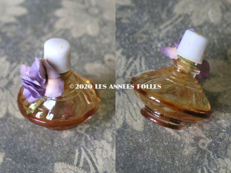 画像2: アンティーク 菫の小さなパフュームボックス&ボトル  ESSENCE VIOLETTES DE TOULOUSE - BERDOUES FRANCE -