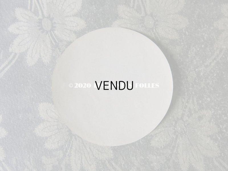画像2: アンティーク パウダーボックスのラベル 菫 POUDRE DE RIZ ETEA VIOLETTA - CLAUDIUS LUBIN -