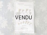 """1900年代 アンティーク パールのエパングル コミュニオンのヴェール EPINGLES """"VIOLE"""" POUR 1er COMMUNION"""