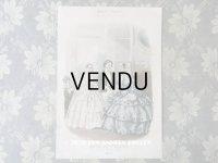 1855年 アンティーク モード版画 モード雑誌 MODES VRAIES - MUSEE DES FAMILLES -