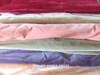 1900年代 アンティーク ファブリック シルク製 ベルベット