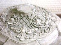 アンティーク 石膏のオーナメント ロカイユ装飾