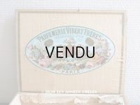 19世紀末 アンティーク 天使のパフュームボックス HUILE SAIDA  - PARFUMERIE VIBERT FRERES PARIS -