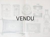 アンティーク パフュームリーのデザイン画  PLANCHE 30 - DELETTREZ PARIS -