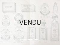 アンティーク パフュームリーのデザイン画  PLANCHE 29 - DELETTREZ PARIS -