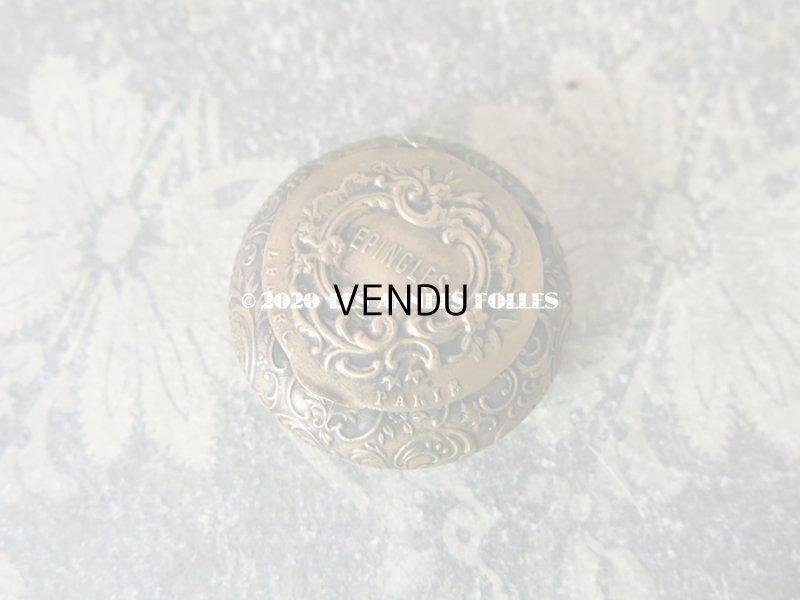 画像2: アンティーク ロカイユ装飾のエパングルケース ミラー付 EPINGLES